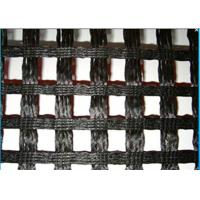 China Alkali Resistance Fiberglass Geogrid , Geogrid Reinforcement Fabric For Roads on sale