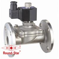Buy cheap 2 Way Zero Pressure Solenoid Valve , Electric Diaphragm Valve DN15 ~50mm from wholesalers