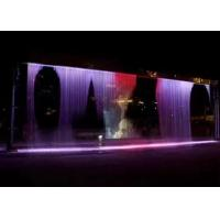 Wall Decorative Digital Water Curtain Fountain For Hotel Lobby Office And Home Manufactures