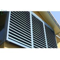 Typical Airflow Aluminium louvre Windows For All Enclosed Spaces Manufactures