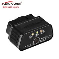 16 Pin Obd2 Bluetooth Car Diagnostic Scanner For 12V Gas And Diesel Cars Manufactures