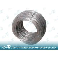 Silver Grey 2000mm gr2 gr5 Titanium Alloy Wire for Fastener Manufactures