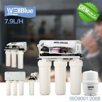 Household Reverse Osmosis Water Filtration System With 3.2G Storage Tank Manufactures