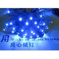 China 9mm 5V led channel letters blue color pixel light outdoor led signs on sale