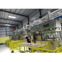 Compostable Paper Pulp Molding Machine / Manual Tableware Food Tray Line Manufactures
