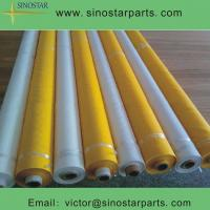China 100% polyester/nylon Monofilament silk screen printing mesh on sale