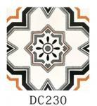 Apartment Decorative Ceramic Tile 3% Water Absorption Mix Art Pattern Manufactures