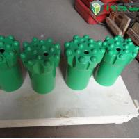 T51 89mm / 115mm Rock Drilling Tools , Thread Tungsten Carbide Button Bits Manufactures