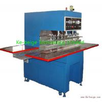 China Automatic Plastic Tarpaulin Welding Machine 10kw For Awning / Film Fabric Welding on sale