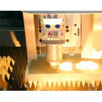 China CNC Aluminum Alloy Fiber Laser Cutting Machine for Thick Sheet , 4000mm×2000mm on sale