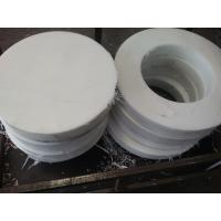 China low friction coefficient white plastic round spacers cnc machined parts on sale