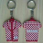 Customized Cartoon Animal Logo Design Soft PVC Rubber Keychain Manufactures