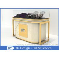 Lockable Retail Jewelry Store Jewelry Display Counter With OEM Logo Manufactures