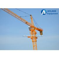 2.5 Ton Hammerhead Tower Crane , Building Construction Topkit Tower Crane Manufactures