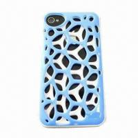 3D Hollow Plating Protection Cover for iPhone 4/4S, Durable and Wear-resistant Manufactures