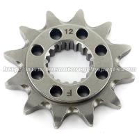 Quality 20 MN Steel Front Dirt Bike Chain Sprocket With Closet Tolerance And Best Teeth Profile for sale
