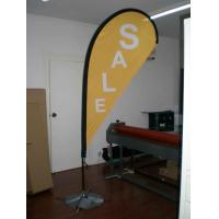 China 100% Polyester Customized Flags Banners Vinyl flex , pvc for Trade show on sale