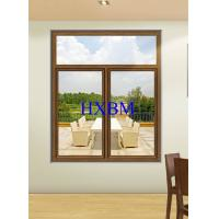 Tempered Clear Glass Aluminum Sliding Windows 6063 -T5 Aluminum Profile For Townhouses Manufactures