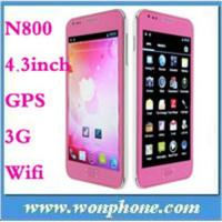 China N800 MTK6575 Android 4.0 GPS WiFi 4.33G Cell Phone on sale