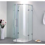 U-shape shower Enclosure with Hinge Door Manufactures