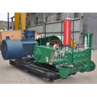 Buy cheap Three Cylinder Plunger Type Pump With Stable Lubrication System ISO9001 Approved from wholesalers