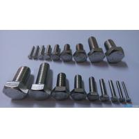 Grade 4.8 Stainless Steel Hex Head Bolts , Full Thread Bolts DIN 961 M30 Size Manufactures