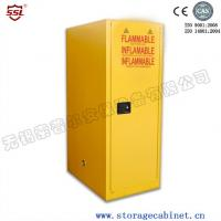 China Heavy Duty Lockable Storage Cabinet With Distinct Safety Signs And Bullet Latches on sale
