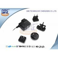 Glucose Meter AC DC Adapter 6V 500Ma , Interchangeable AC DC Plug Adapter Manufactures