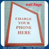 Custom PVC Wall Flags and Banners with Flagpole Manufactures