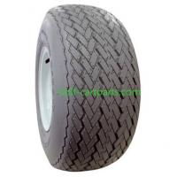 Rubber security Golf Cart Non Mark Tires Black Color For Club Car Manufactures