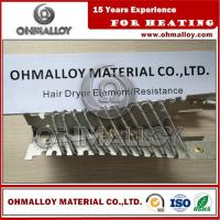 China FeCrAl Alloy OHMALLOY Mica Electric Hair Dryer Heating Element Resistance on sale