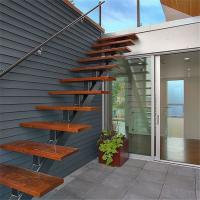 Custom staircase external stairs residential safety rails stairs Manufactures