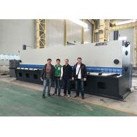 Flying Cut NC Guillotine Shearing Machine With Hydraulic Angle Setting 12 * 6000mm Manufactures
