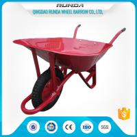 Steel Tray Heavy Duty Wheelbarrow , County Clipper Wheelbarrow 65L Water Capacity Manufactures