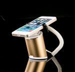 COMER Mobile Phone Tablet Pc Self-alarming Open Display plastic Stand alarm holder charging racks Manufactures
