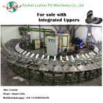 semi-automatic sole with integrated upper foam soles PU sole making machine Manufactures