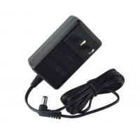 China 18W Plug In Wall Switching Power Supply Adapter Frontal Black / White Color on sale