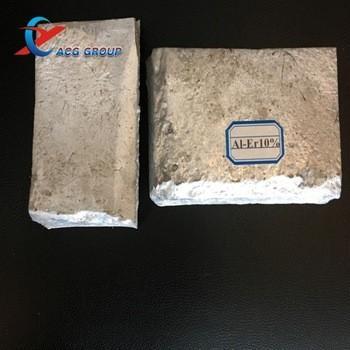 Quality Supply Aluminium Rare earth alloy Ingot Aluminum Erbium alloy with competitive price for sale