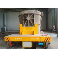 China 50t slag pot carrier on rail for steel mill production line transformer car on sale