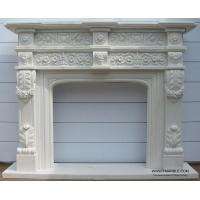 Carved White Marble Fireplace Manufactures