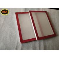 High Precision Silk Screen Aluminum Frame For Printing Silver Color Light Weight Manufactures