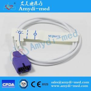 Quality Nellcor Compatible Disposable SpO2 Sensor - MAX-N ,PVC,1m for sale