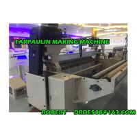 High Productivity Tarpaulin Making Machine For PP / PE Tarpaulin Cloth Manufactures