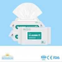 Wholesale 75% Alcohol hand disinfectant wet wipes for daily home anti virus for sale
