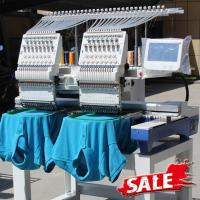 Two Heads Wonyo Computer 3D Embroidery Machine For Caps , Long Life Time Manufactures