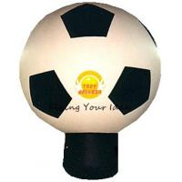 Giant Attractive Inflatable Advertising Balloon For Promotion With Football Shape Manufactures