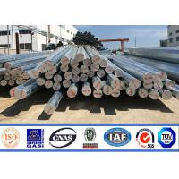 8m 11m Factory Price Hot Dip Galvanized octagonal Steel Pole For Transmission line Manufactures