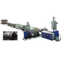 Water Supply PVC Pipe Extrusion Machine Conical Twin - Screw Extruder Manufactures