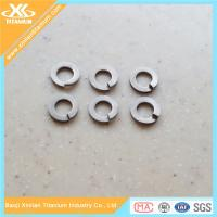 High Strength Gr5 Titanium Spring Washers Manufactures