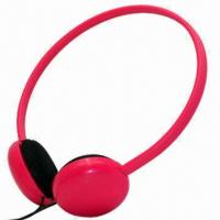 Wired Headphones for MP3/iPod/iPhone, Comes in 8 Colors/Pantone Number, Customized Logos Accepted Manufactures